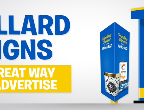 Bollard Post Signs – A Great Way to Advertise at the Pump or Store Front!