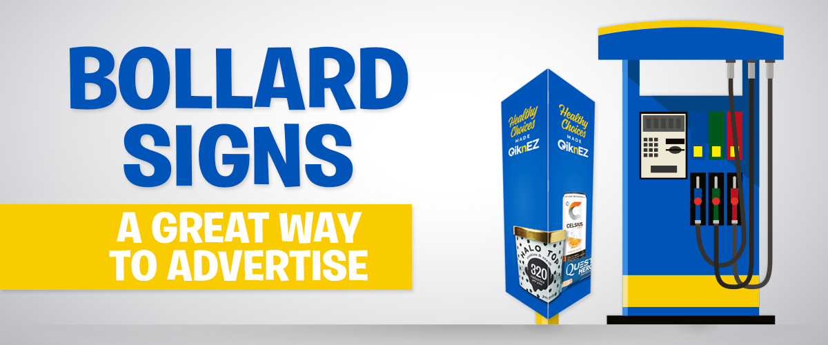 Bollard Signs. A Great Way to Advertise