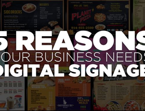 5 Reasons to use Digital Signs at your place of business