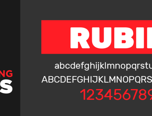 Fascinating Fonts: Rubik – a slightly rounded font that works almost anywhere!