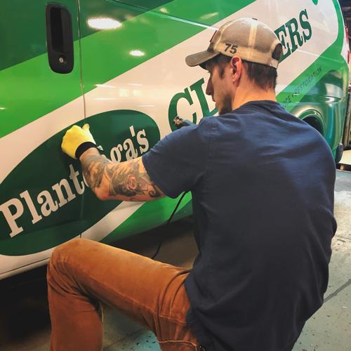 Plantenga's Full Vehicle Graphics