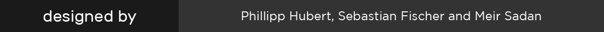 Rubik font designed by Hubert & Fischer