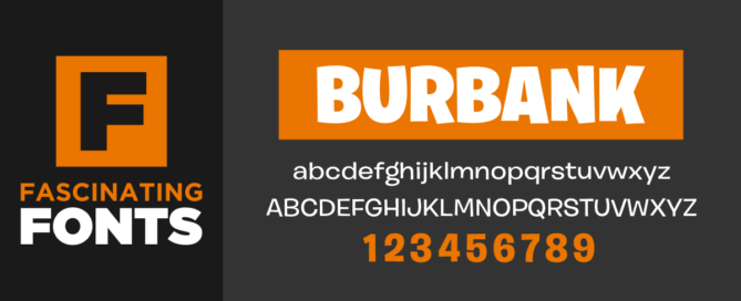 Fascinating Fonts: Burbank