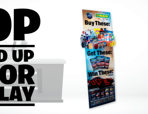 POP Stand Up Floor Display – Product Highlight