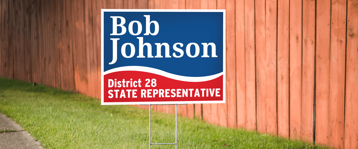Yard Signs - A Great Outdoor, Mobile Sign Option! | Wilde