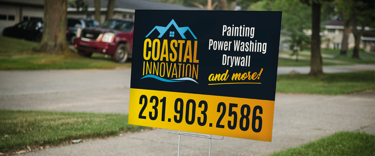 Coastal Innovation Yard Signs