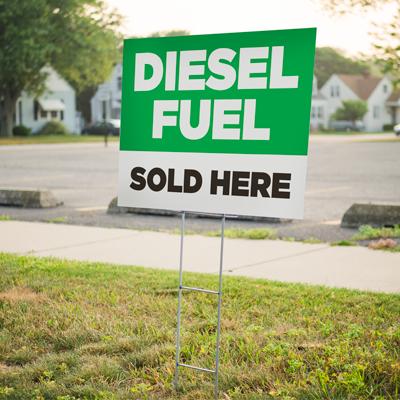 Diesel Yard Sign