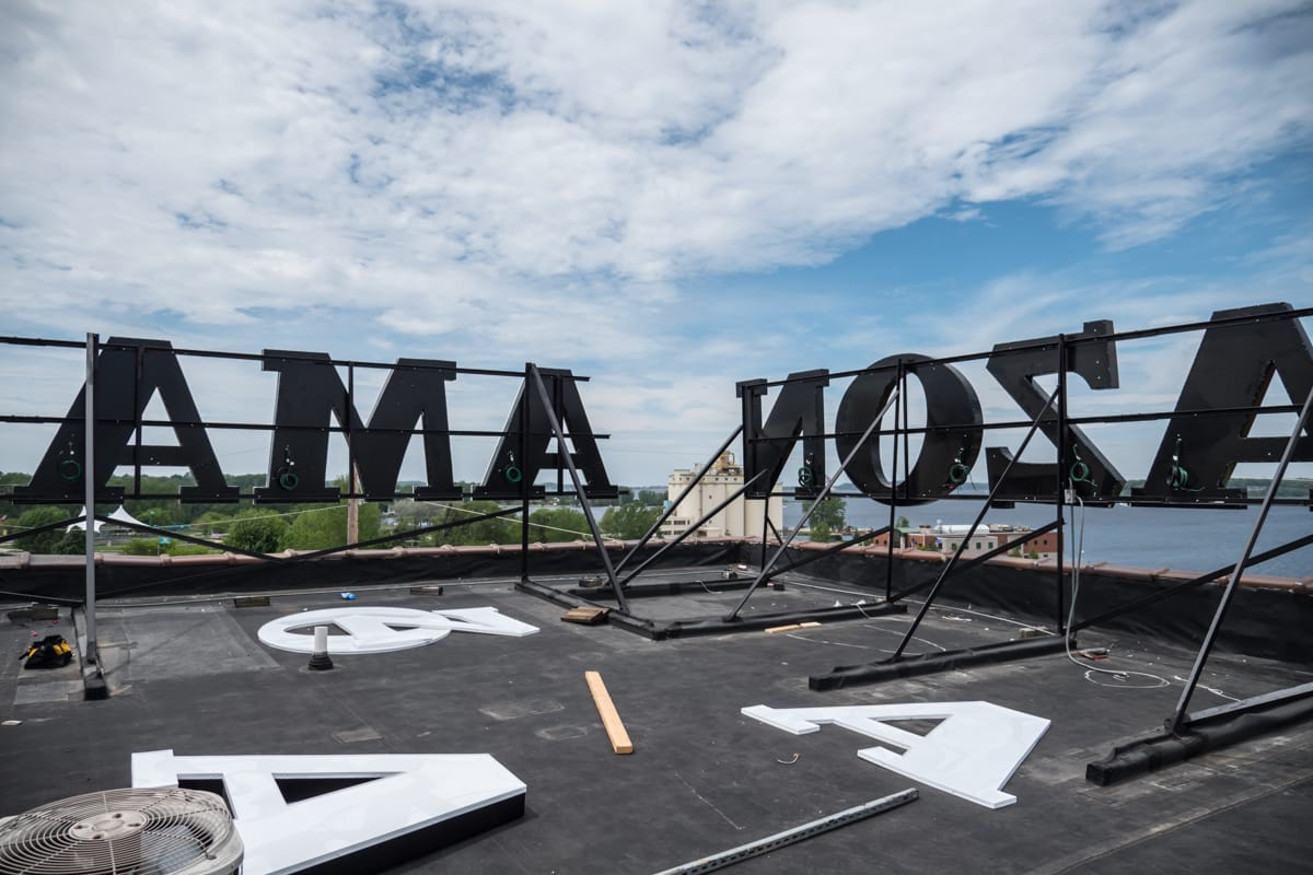Letters on the Rooftop
