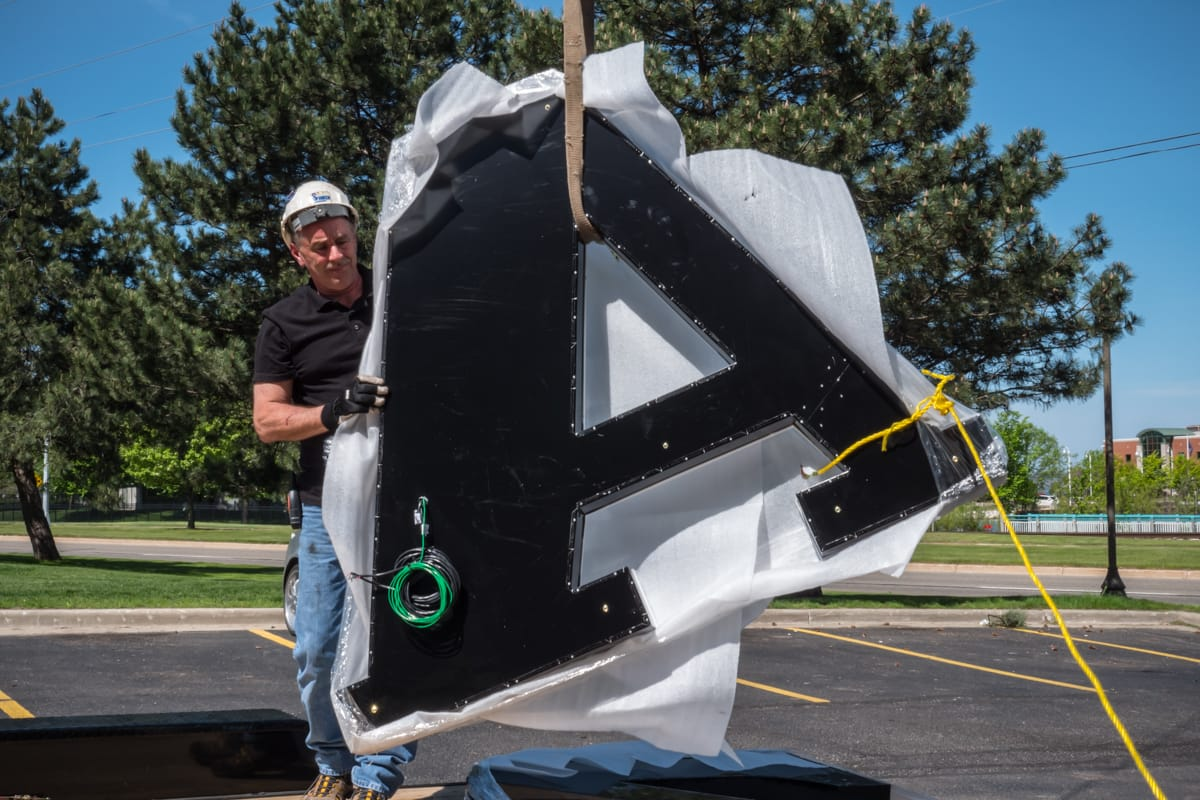 6 Foot Letter A