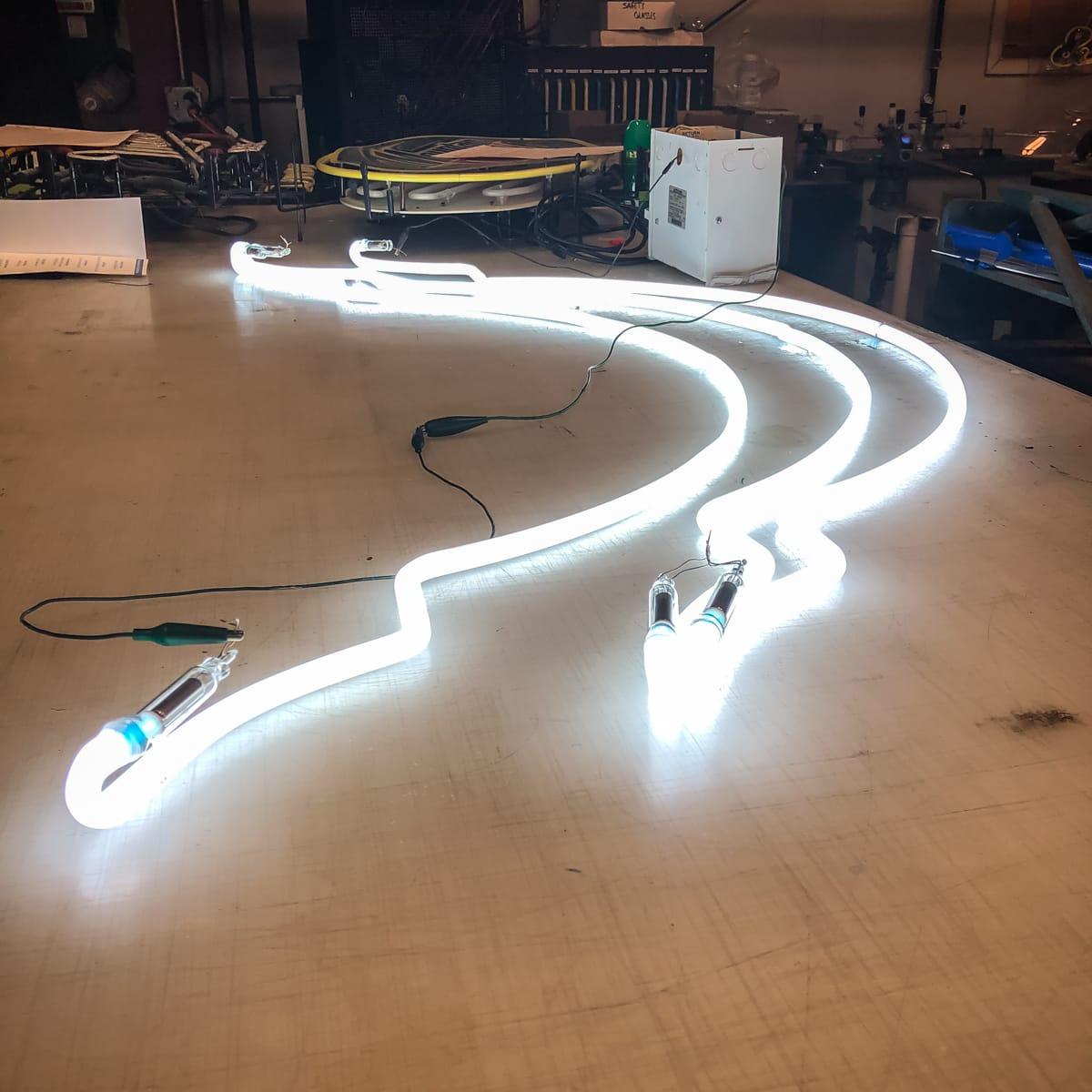 White Neon Light