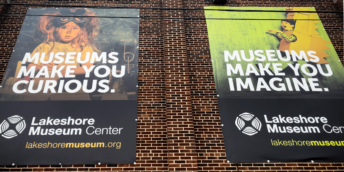 Wall Mounted Museum Banners