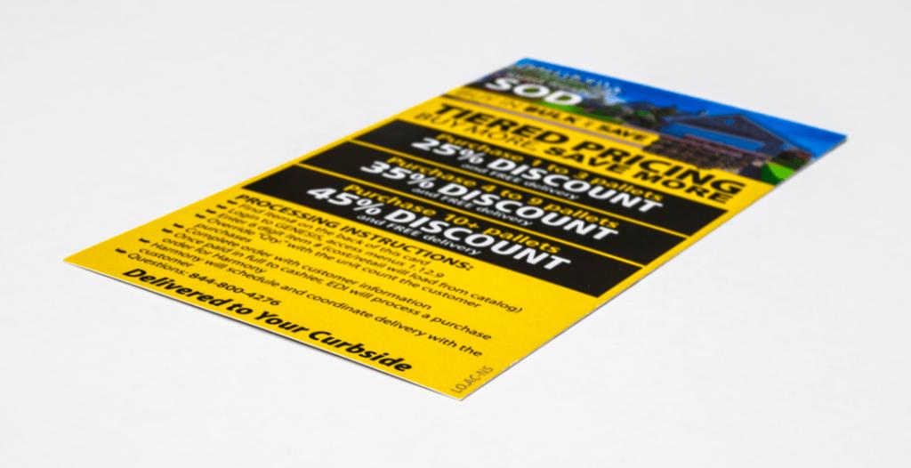 Sod Info Card