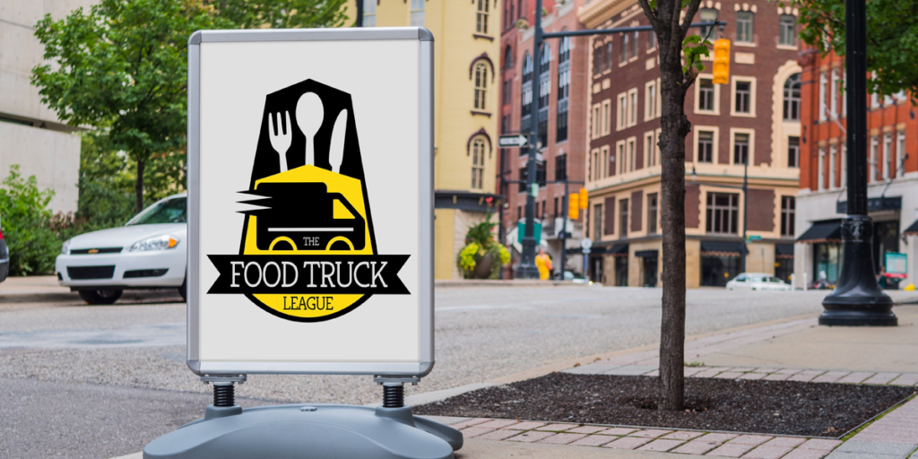 Food Truck Wind Sign