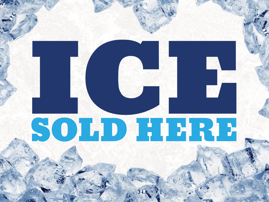 Ice Sold Here Poster
