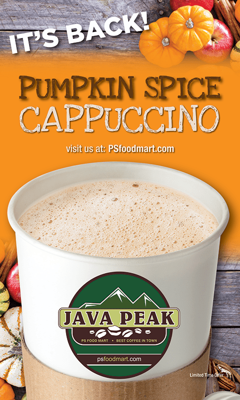 Pumpkin Spice Cappuccino Poster