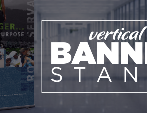 Vertical Banner Stands = Great Marketing / Sales Tools!