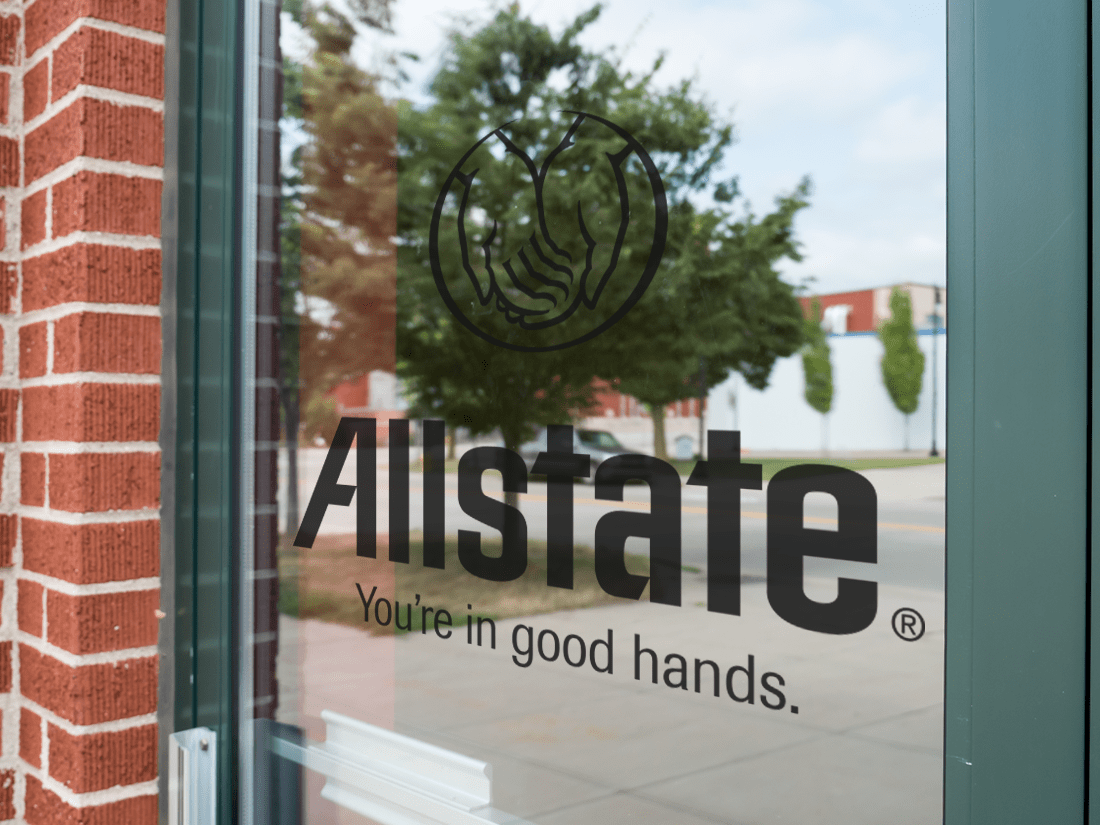 Allstate Window Lettering
