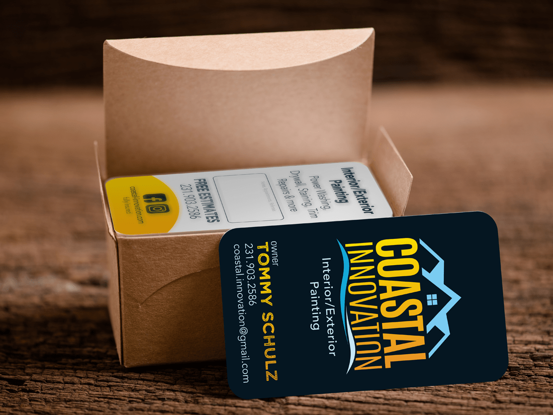 Coastal Innovation Business Cards