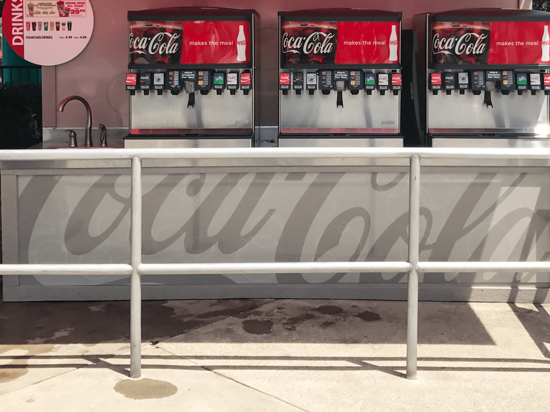 Coca Cola Display Graphic