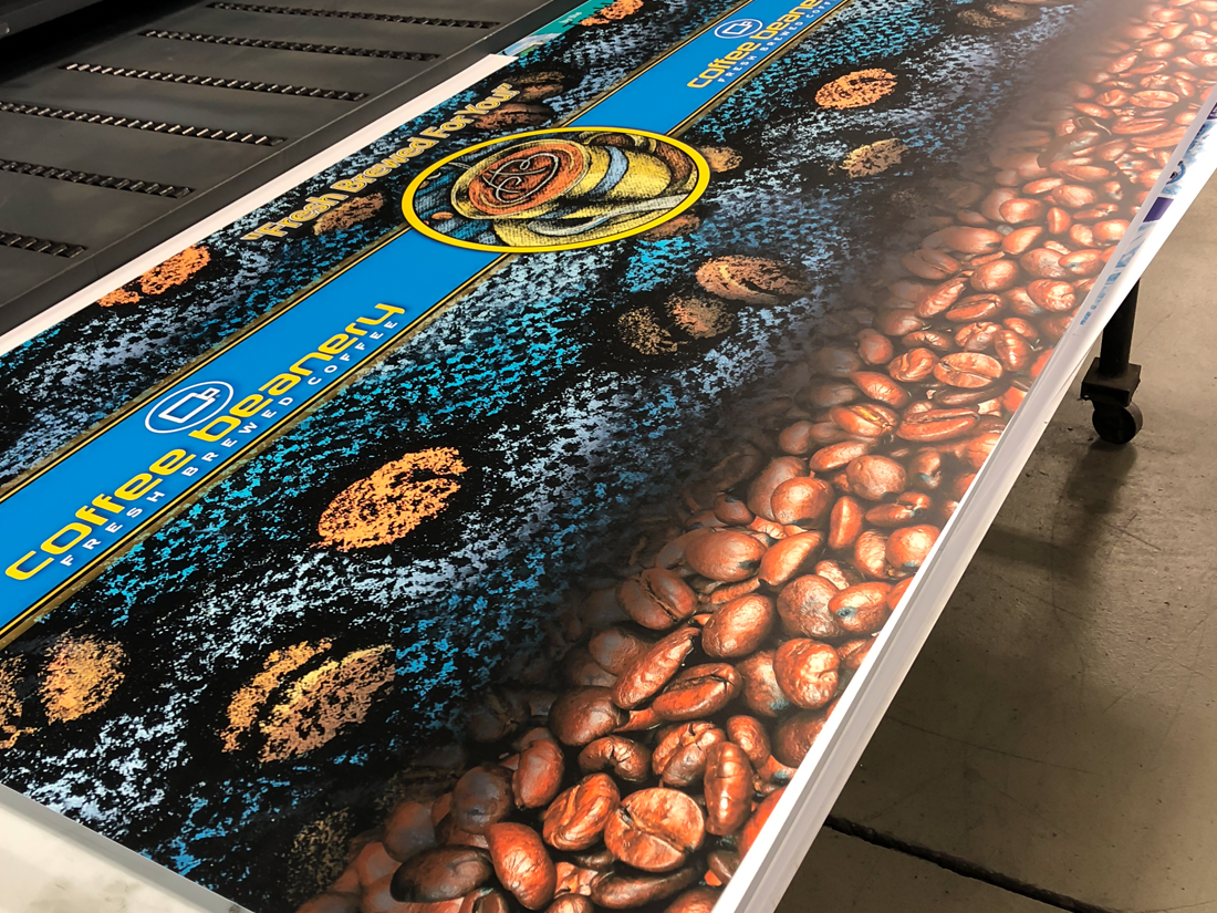 Coffee Beanery Wall Graphic Print