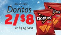 Doritos Shipper Sign