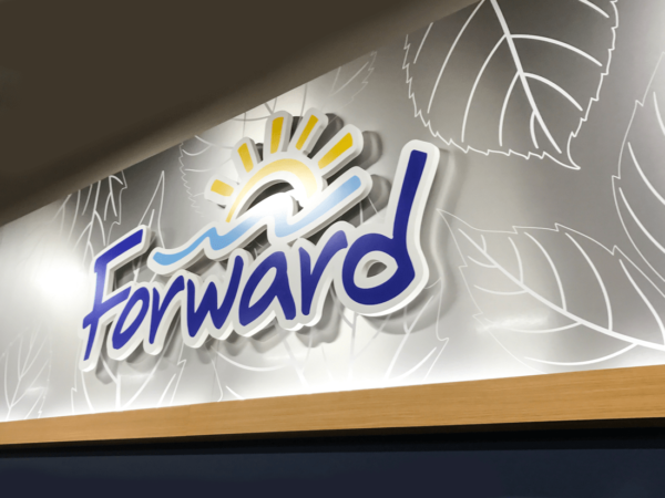 Forward Corp Dimensional Lettering