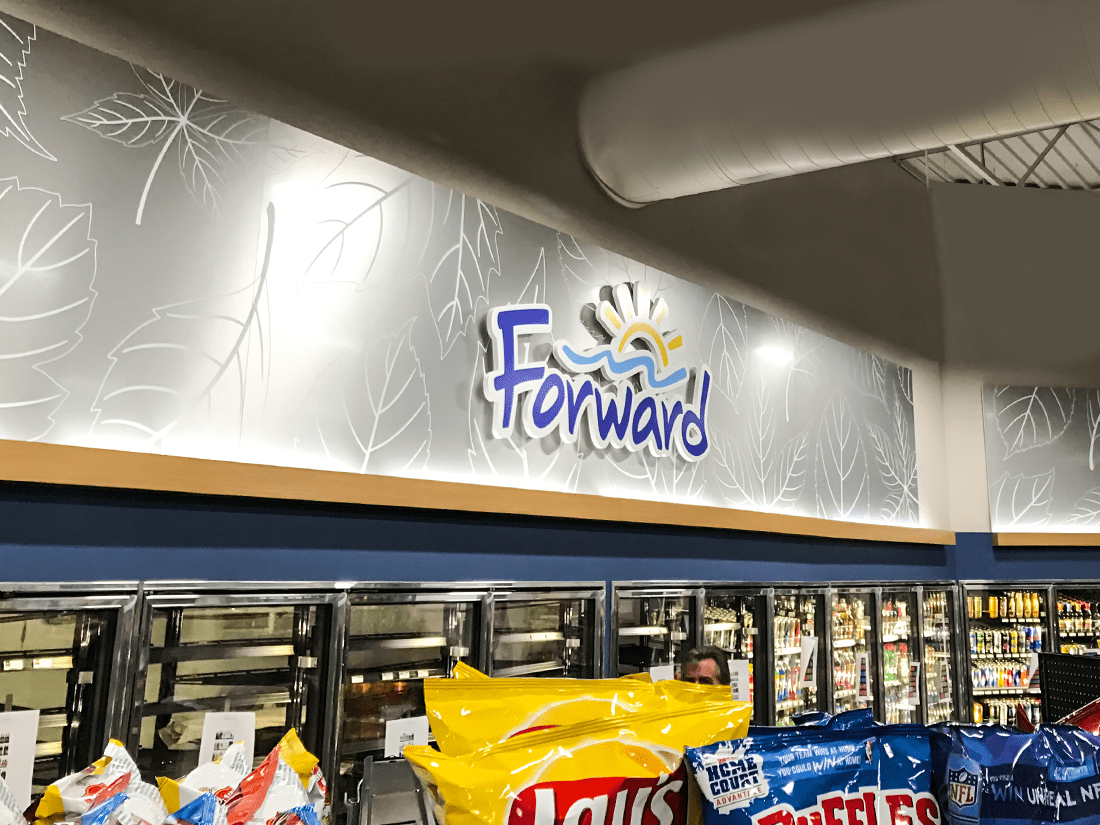 Forward Corp Wall Dimensional Lettering