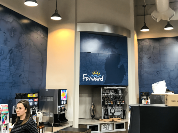 Forward Corp Wall Graphics