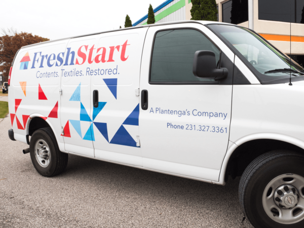Fresh Start Die-cut Van Graphics