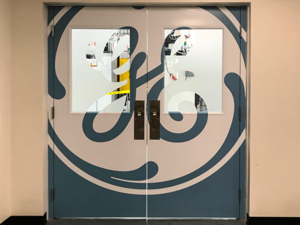 GE Wall Graphic