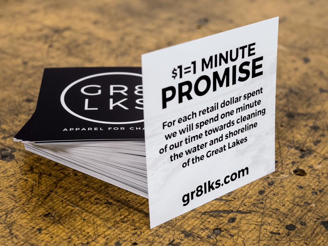 GR8LKS Promise Cards