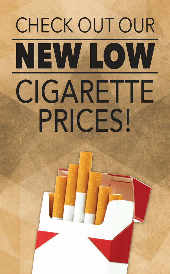 Now Low Cigarette Prices