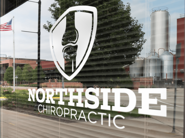 Northside Chiropractic Window Lettering