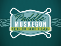 Paddle Muskegon Yard Sign