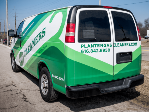 Plantenga Cleaners Van Wrap