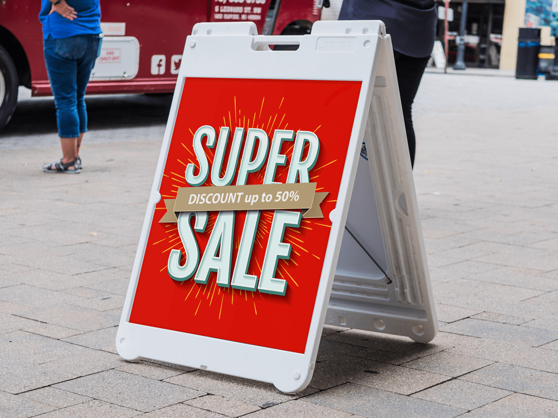 Super Sale Simpo Sign
