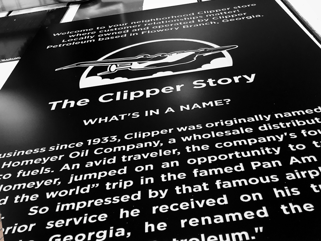 The Clipper Story Wall Plaque