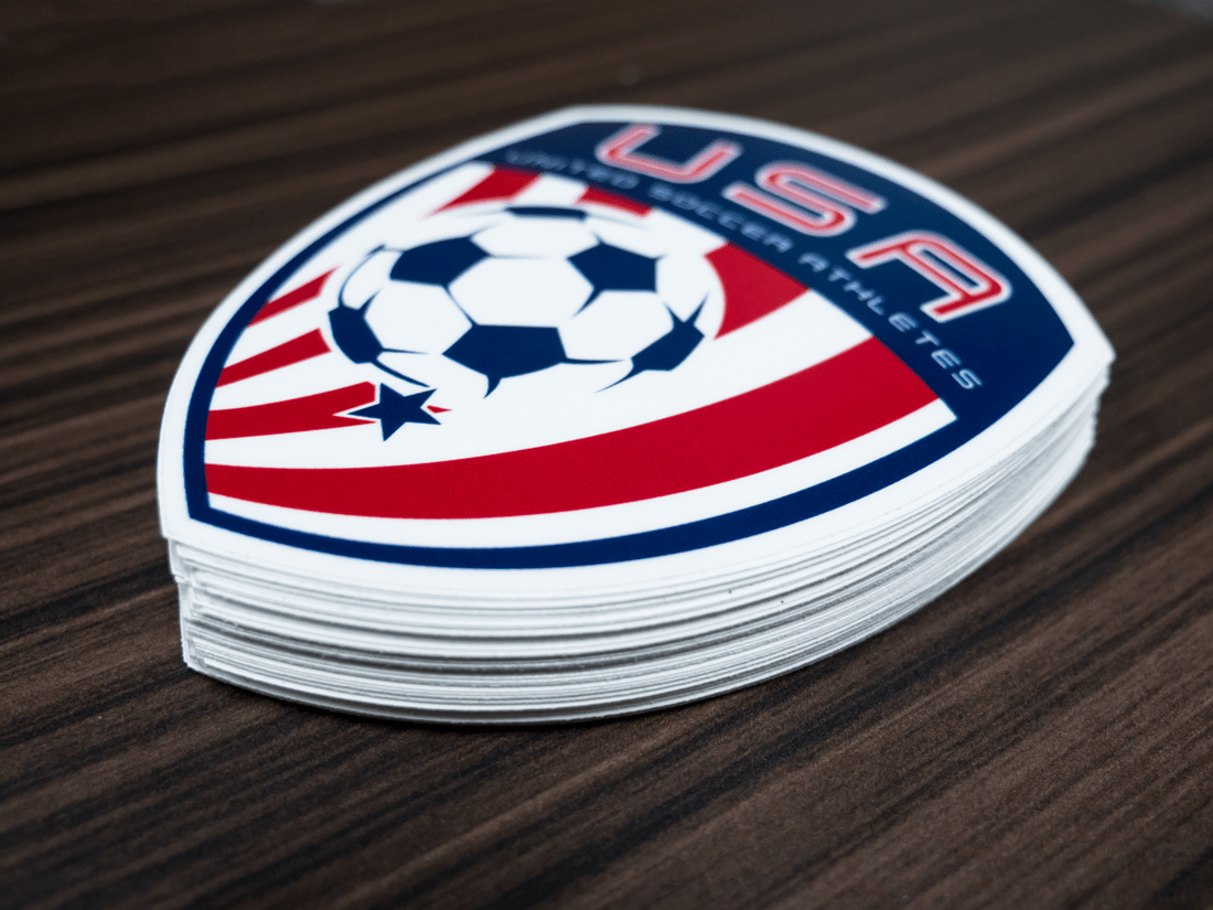 USA Soccer Stickers