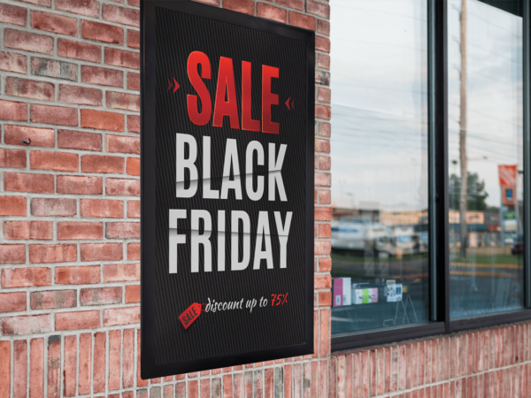 Black Friday Wall Frame