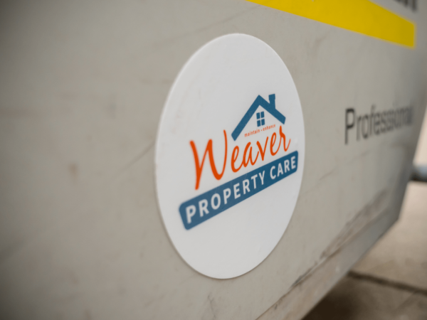 Weaver Property Care Circle Stickers