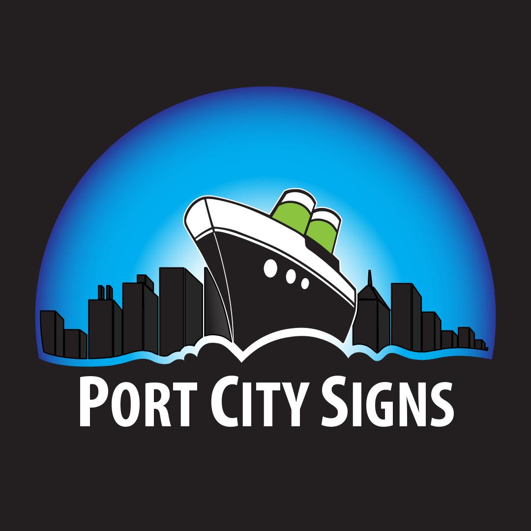 Port City Signs Logo