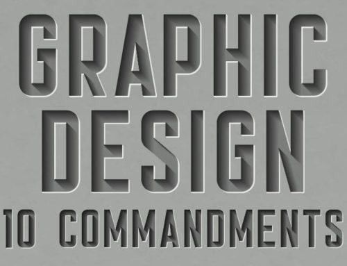 Graphic Design 10 Commandments