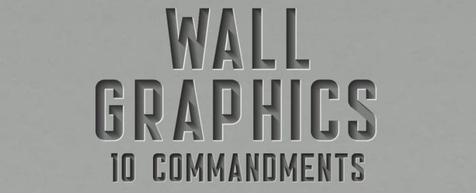 Wall Graphics 10 Commandments