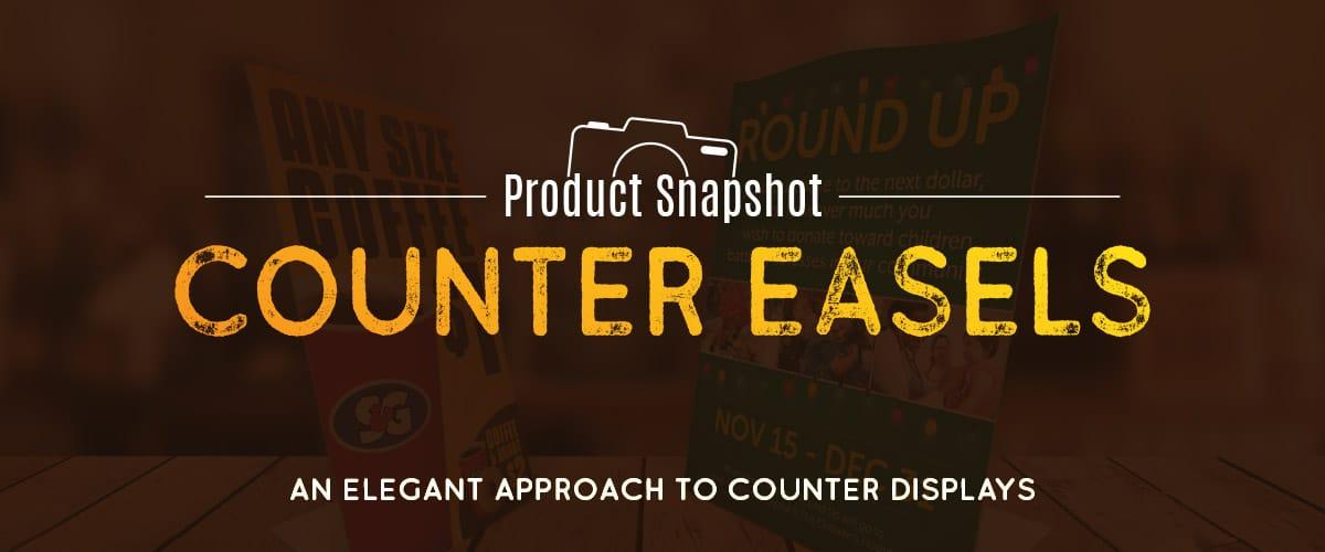 Counter Easel