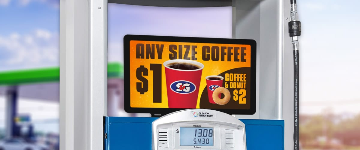 Any Size Coffee Fuel Dispenser Pump Topper