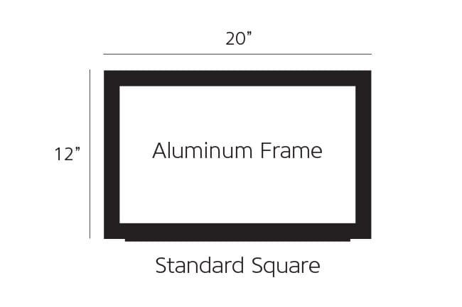 Standard Aluminum Pump Topper Frame