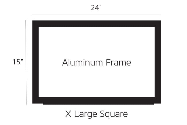 X Large Aluminum Pump Topper Frame